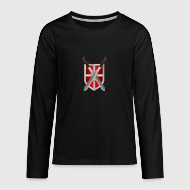 shield - Teenagers' Premium Longsleeve Shirt