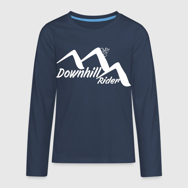 Downhill - Teenager Premium Langarmshirt