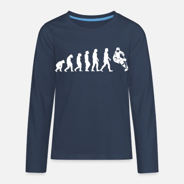 Hockey Evolution Hockey - T-shirt manches longues Premium Ado