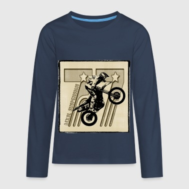 mx-cross - Teenager Premium Langarmshirt
