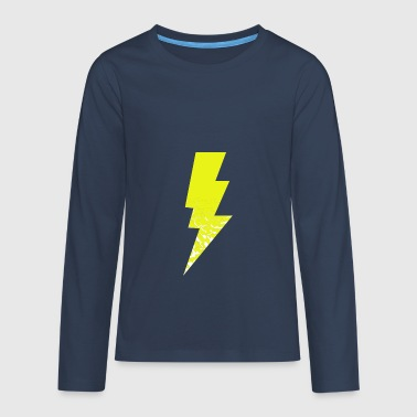 lightning - Teenagers' Premium Longsleeve Shirt