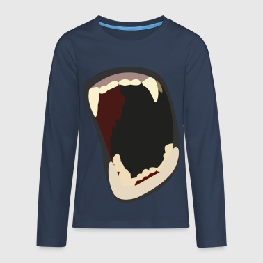 Mouth - Teenagers' Premium Longsleeve Shirt