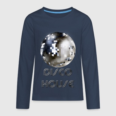Disco House - Camiseta de manga larga premium adolescente
