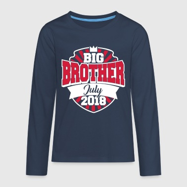 Big Brother July 2018-big brother 2018-pregnant - Teenagers' Premium Longsleeve Shirt