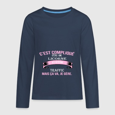 Trafic Traffic - T-shirt manches longues Premium Ado