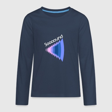 sound - Teenagers' Premium Longsleeve Shirt