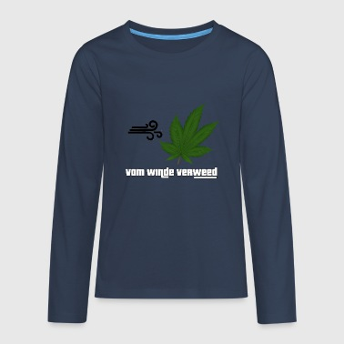 WINDED BY THE WIND - Teenagers' Premium Longsleeve Shirt