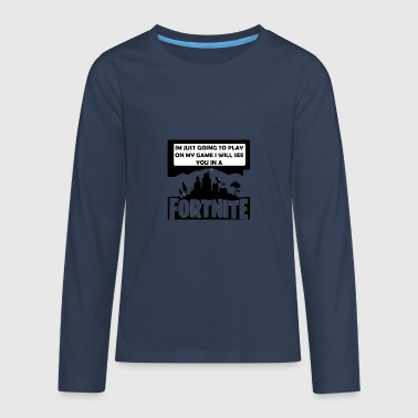 addicted - Teenagers' Premium Longsleeve Shirt