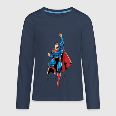 Superman Up and Away Ado Tee shirt manches longues - T-shirt manches longues Premium Ado