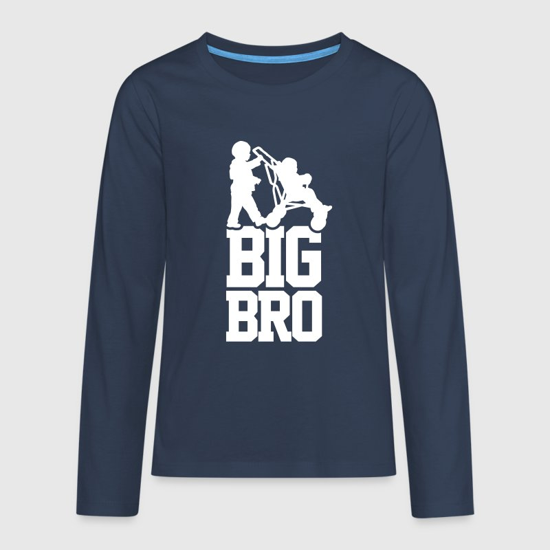 Big Bro - Teenager Premium shirt met lange mouwen