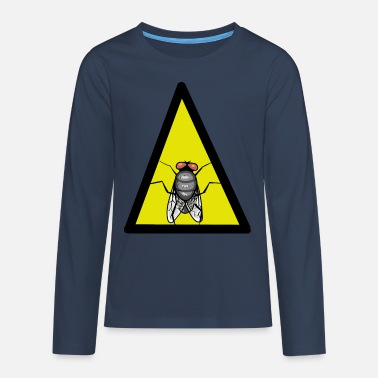Fly-insect Fly Fly Insect insect animals - Teenage Premium Longsleeve Shirt