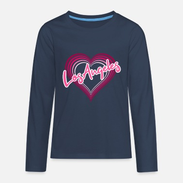 Los Angeles Los Angeles - Teenager premium longsleeve