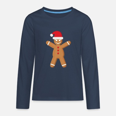 Gingerbread Gingerbread - Teenage Premium Longsleeve Shirt