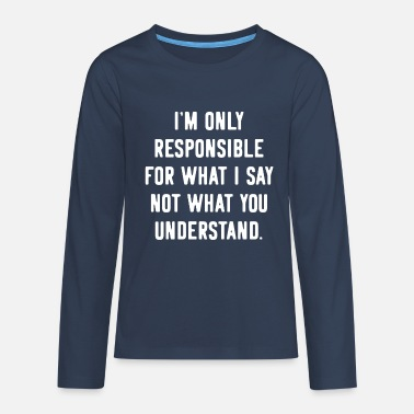 Provocation Provocation provocative Provoke - Teenage Premium Longsleeve Shirt