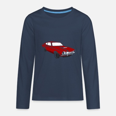 Old Car 53 - Teenage Premium Longsleeve Shirt