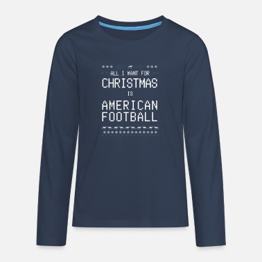 All I Want for Christmas - Teenager Premium Langarmshirt