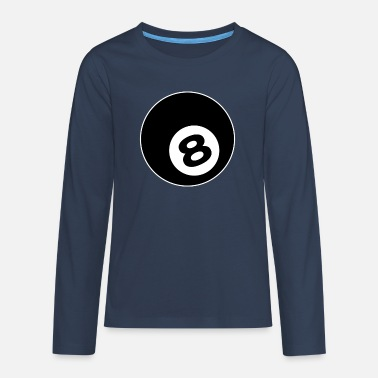 Billiard Cue Billiard Table Gift - Teenage Premium Longsleeve Shirt