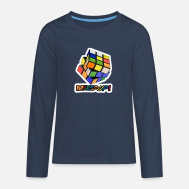 Cube Rubik's Mixed Up! - Teenage Premium Longsleeve Shirt