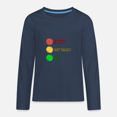 Traffic traffic light - Teenage Premium Longsleeve Shirt