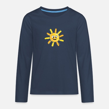 Partnerlook Sunshine - Partnerlook Shirt 009 - Premium langærmet T-shirt teenager