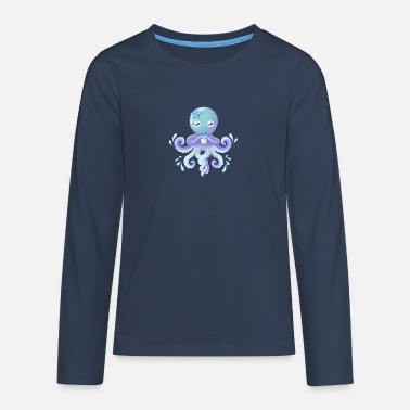 OctoCute edition 2018 - Camiseta de manga larga premium adolescente