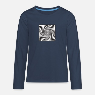 Optical Illusion optical illusion - Teenage Premium Longsleeve Shirt
