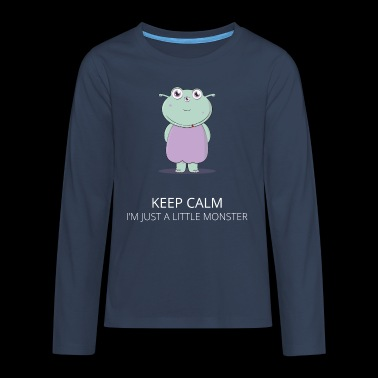 Kleines Monster - Kleines Monster - Teenager Premium Langarmshirt