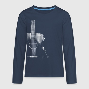Guitar - Teenagers' Premium Longsleeve Shirt
