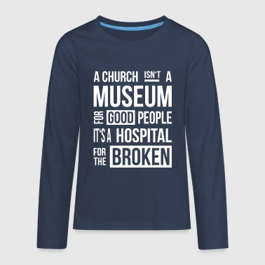 Church Museum - Teenagers' Premium Longsleeve Shirt