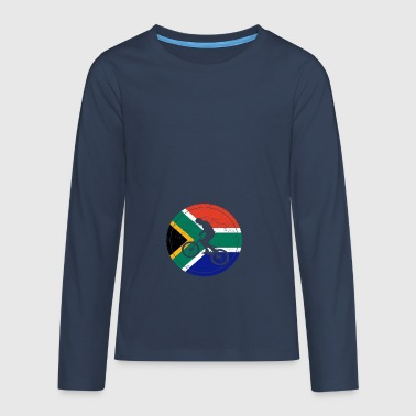 Bicycle bmx love biking South Africa - Teenagers' Premium Longsleeve Shirt