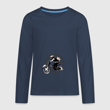 Gift Bike Mountain Bike Bicycle Kids Bike - Teenagers' Premium Longsleeve Shirt