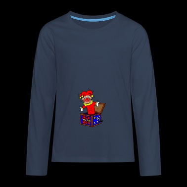 clown - Teenagers' Premium Longsleeve Shirt