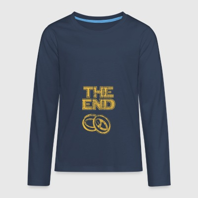 the end used look - Teenager Premium Langarmshirt