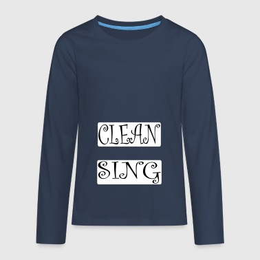 Cleansing - Teenager Premium Langarmshirt