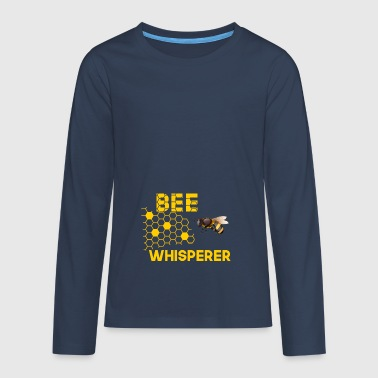 Bees Whispers - Teenagers' Premium Longsleeve Shirt