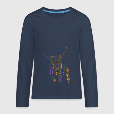 Tribal / bull - Teenagers' Premium Longsleeve Shirt