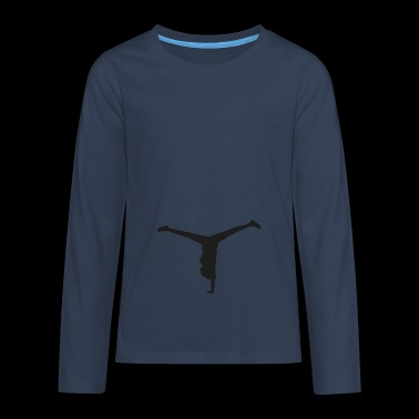Dancers Wheel - Teenagers' Premium Longsleeve Shirt