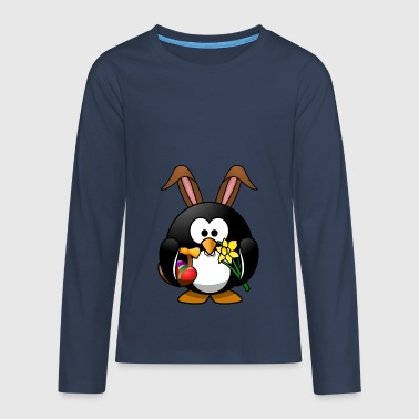 Osterpinguin - Teenager Premium Langarmshirt