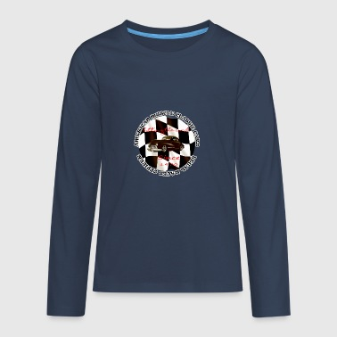 american muscle cars - Teenagers' Premium Longsleeve Shirt
