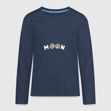 Moon - Teenagers' Premium Longsleeve Shirt