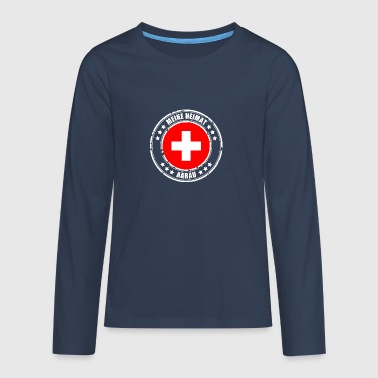 MY HOME AARAU - Teenagers' Premium Longsleeve Shirt