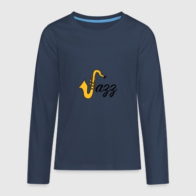 6061912 126161837 Jazz - Teenagers' Premium Longsleeve Shirt