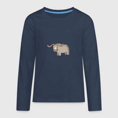 safari 18 - Teenager Premium shirt met lange mouwen