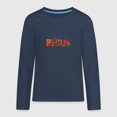 Berlin 005 - Teenagers' Premium Longsleeve Shirt