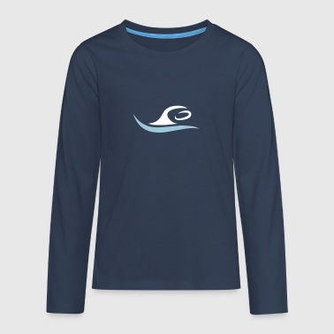 swim - Teenagers' Premium Longsleeve Shirt