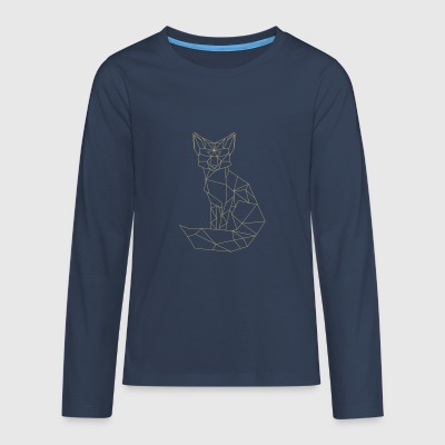 t-shirt with Fox - Teenagers' Premium Longsleeve Shirt