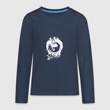 Our earth - Teenagers' Premium Longsleeve Shirt