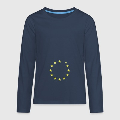 European flag verliest UK - Teenager Premium shirt met lange mouwen