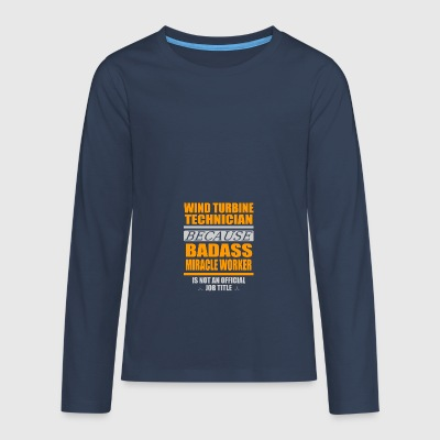 Miracle worker - Teenagers' Premium Longsleeve Shirt