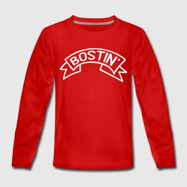 Bostin' Birmingham Dialect - Teenagers' Premium Longsleeve Shirt